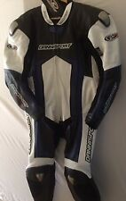 professional motorcycle 1pc cowhide racing suit size 40 uk free postage.