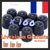 100 Bouchons capuchons de valve pneu jante voiture auto moto velo quad pneumatiq