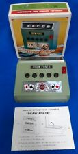VINTAGE 1971 WACO DRAW POKER CORDLESS ELECTRIC FULL AUTOMATIC GAME JAPAN