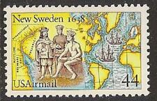 US C117 Airmail New Sweden 44c single MNH 1988