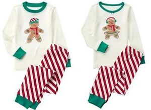 NWT Gymboree GINGERBREAD 2016 Christmas/Holiday Pajama Adult/Dad/Daddy/Mom/Mommy