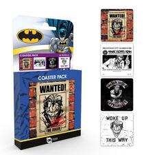 DC Comics Joker Coaster Pack Villains Batman Gotham Why So Serious Arkham