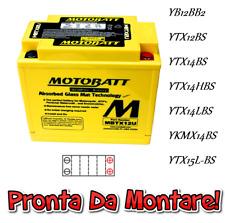 Motobatt Batteria Sigillata Attiva 12V 14Ah HondaXRV Africa Twin 750 1993-2003
