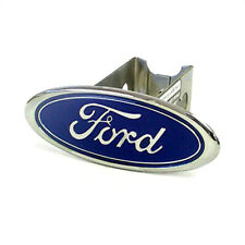 Ford Logo Metal Trailer Hitch Cover Plug