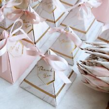 Triangular Pyramid Candy Box Wedding Favors Party Supplies Paper Gift Boxes