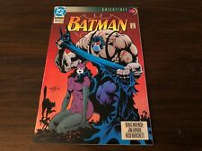 Batman 498 Vf Knightfall Pt 15 Bane