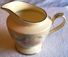 "LENOX  LITCHFIELD GARDEN CREAMER # 306387  BEAUTIFUL., RETIRED 3.75"" TALL"