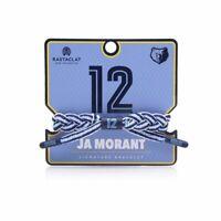 Ja Morant Memphis Grizzlies Rastaclat NBA Braided Bracelet - Lt Blue/Navy