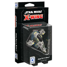 Star Wars X-wing 2nd Edition Jango Fetts Slave 1 Expansion Set