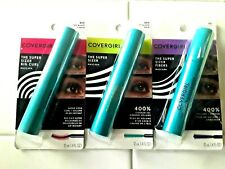 COVERGIRL THE SUPER SIZER FIBERS VOLUME + LENGTH MASCARA VERY BLACK