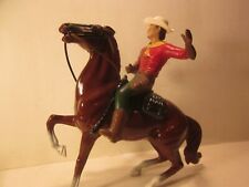 Vintage Hartland U.S.Mail, Uffalo Bill & Semi Rearing Chestnut Horse 800 Series