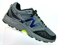 New Balance 510V3 All Terrain Gray/Black Running Training Shoes Mens 8 (4E)