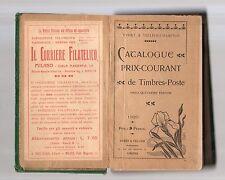 catalogue de timbres poste-yvert & tellier 1920- francia