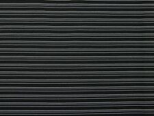 Textured Pinstripe Stretch Bengaline Suiting Dress Fabric (EM-StripeStretchBe...