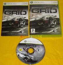RACEDRIVER GRID XBOX 360 Versione Italiana 1ª Edizione Race Driver •••• COMPLETO