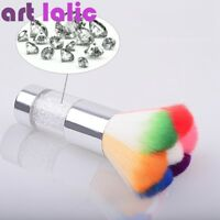 Nail Art Dust Remover Brush Cleaner Rhinestones Makeup Foundation Glitter Tool