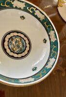 "Gold and Green Hand Painted IMARI 6"" Porcelain Bowl - Beautiful"