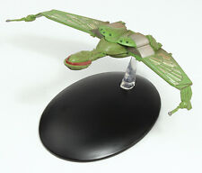 Eaglemoss Diecast Star Trek Klingon Bird-of-Prey EM-ST0003 TV MOVIE & MAGAZINE 3