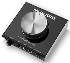 M-audio M-track Hub Interface USB de Monitoring 24bits avec 3 ports Alimentés