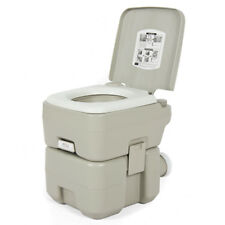 20L Portable Camping Toilet Flush Porta Travel Outdoor Vehicle Boat Toilet Potty