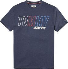 TOMMY HILFIGER Camiseta - Jeans BLOQUE Logo - gris, azul marino, Rosa