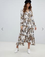 Free People Women's Tough Love Shirtdress Ivory Combo Size 8 MSRP $168