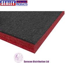 SEALEY EASY PEEL SHADOW FOAM RED/BLACK, TOOL BOX TRAY INSERT - SF30R