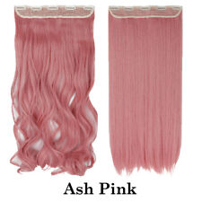 """100% Natural Clip in Hair Extensions Real Thick Long 17""""- 26""""As Human Free AMDE"""
