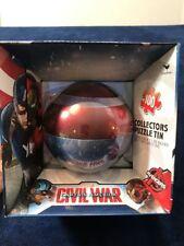 Puzzle Captain America Civil War Tin Shield Sphere Marvel Avengers 100 Pieces
