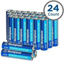 [Pk-24] Westinghouse Alkaline AAA Batteries Lasting Power for High Drain Devices