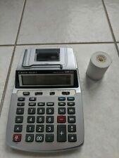 Canon Desktop Printing Clock & Calculator P23-DH & 9 rolls
