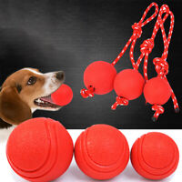 Solid Rubber Bouncy Ball Pet Dog Puppy Trainning Chew Activity Bite Resistant SH