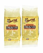 Bob's Red Mill Semolina Pasta Flour - 24 oz - 2 Pack Free Shipping