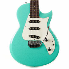 Used Taylor SolidBody Classic Green Sparkle 2011