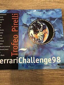 RARE  AWESOME 1998  Ferrari Challenge Brochure