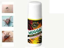 Insect Repellent Mosquito Tick DEET 50% Mugga Roll-on Extra Strong UK Seller