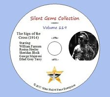 """DVD """"The Sign of the Cross"""" (1914) starring William Farnum, Classic Silent Drama"""
