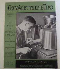 Linde Air Products Company Oxy-Acetylene Tips 1941 Catalog #2