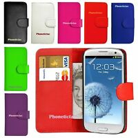 Flip Leather Wallet Case Cover For Various Samsung Galaxy Mobile Phones