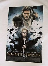 SNOW WHITE AND THE HUNTSMAN LARGE 18 X 12 SAM CLAFLIN & LIBERTY ROSS SIGNED