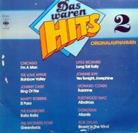 Das waren Hits 2 (1973) Chicago, Love Affair, Johnny Cash, Marty Robbins.. [LP]