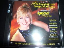 The Greatest Love Songs Of All Time Presented By Kerri Anne (Australia) 2 CD – L