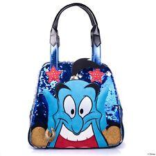 Irregular Choice Disney Aladdin Genie Blue Jasmine Movie Limited Handbag Bag NEW
