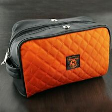 Travel Large Flat Wash Bag Toiletries Men's Shaving and Grooming Accessories