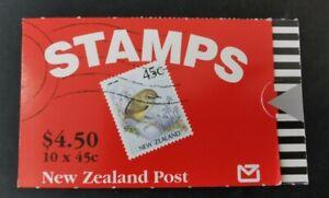 N. Zealand 45c bird   $4. 5 booklet MUH