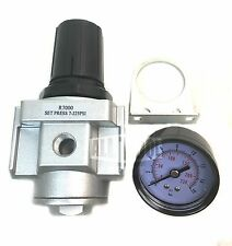"New R704N 1/2"" Air Compressor Regulator with Pressure Gauge"