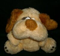 "10"" VINTAGE TAN BROWN BABY PUPPY DOG MTY INTERNATIONAL STUFFED ANIMAL PLUSH TOY"