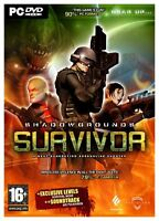 Shadowgrounds Survivor (PC DVD) BRAND NEW SEALED SHADOW GROUNDS