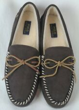 POLO Ralph Lauren Brown Slippers Rubber Sole NWT