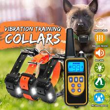1000M LCD Electric Shock Collar Pet Dog Training Remote Control Antibarking Bark